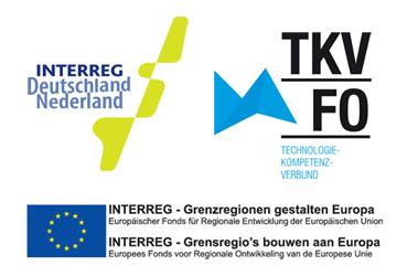 Logo's Interreg en TKV-FO