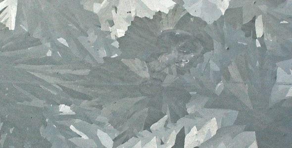 Bepaalde passiveerlaag thermisch verzinkte staalplaat maakt behandeling onmogelijk